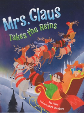 Mrs Claus Yakes the Reins